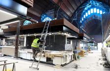 Els horaris del nou Mercat Central es revisaran després d'un any de prova