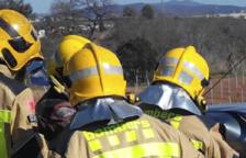 Un incendi de vegetació obliga a tallar l'accés de l'AP-7 des de la C-14 a Vila-seca