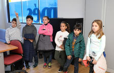 Alumnos de La Salle de Torreforta visitan el Diari Més