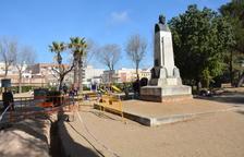 La reforma integral del parc Saavedra ja s'ha posat en marxa.