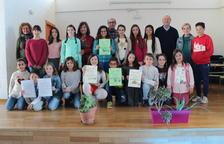 La Escuela de Creixell escoge a los alumnos que participarán en la semifinal del Certamen de Lectura