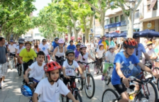Una pasada edición de la Festa de la Bicicleta del Vendrell.