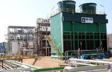 Así es la planta de IQOXE que ha sufrido la deflagración en la Canonja