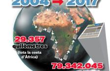Más de 79 millones de ejemplares se han distribuido a lo largo de estos trece años