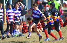 Uns 630 jugadors participaran a la XIII Trobada d'Escoles de Rugby Ciutat de Tarragona