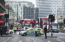 La situación en el puente de Westminster