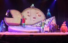 Geronimo Stilton omple les tres representacions programades a Tarragona