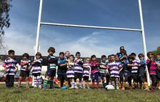 Un total de 628 jugadors i jugadores van participar a la Trobada d'Escoles de Rugby a Tarragona
