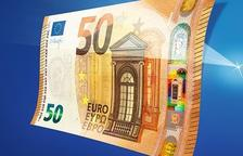 Es renova el bitllet de 50€ que començarà a circular a partir del 4 d'abril