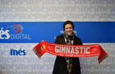 Recullen el premi de la bufanda del Nàstic del partit contra el Sevilla Atlètic