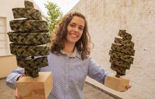 El festival de cinema i turisme terres Catalunya tria una oliva feta amb pauma com a trofeu