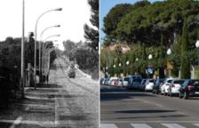 L'abans i ara de la Via Augusta