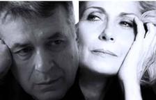 Els actors Enric Majó i Montse Guallar.