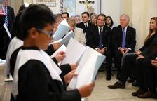 Artur Mas defiende las raíces cristianas de Europa y las entidades antiguas
