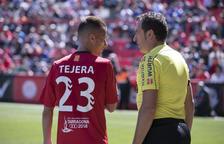 Tejera, contra l'Almeria.