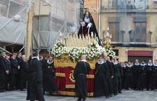 La processó de la Mare de Déu de la Soledat, la última de Tarragona