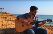 El cantante Luca Bonifaccio rueda su último videoclip en Tarragona