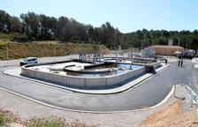 Inaugurada la depuradora del Catllar que permitirá ampliar la capacidad de la prisión de Mas d'Enric