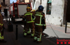 Dues menors intoxicades per fum en un incendi al Morell
