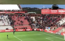 Incidents entre aficionats al final del Nàstic - CF Reus