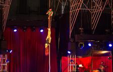 El Trapezi arranca a ritmo de Cabaret y promete cuatro días intensos de circo