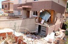 Obren diligències contra els ocupes que van provocar l'explosió de Segur de Calafell
