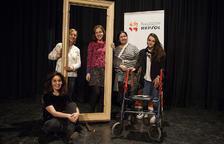 Imatge dels actors de la Companyia de Blanca Marsillach que portaran 'Los Pasos' a Tarragona.