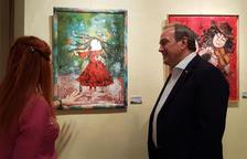 El Palau Bofarull acoge el universo lírico del artista Myriam Arnold a través de una exposición