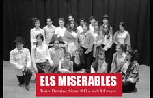 Imatge del cartell de la representació d''Els miserables' a càrrec dels alumnes de 4t d'ESO de l'Institut Baix Camp.