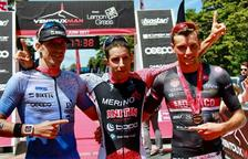 Erik Merino, del CN Reus Ploms, es corona al Ventoux Man