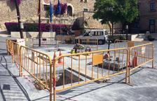 Calafell remodela la plaça de Catalunya per dinamitzar el centre