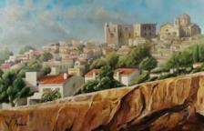 Exposición de pinturas de los artistas Esteve y Gerard Arbués en Torredembarra