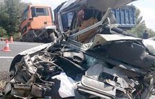La víctima de l'accident de trànsit mortal d'Alcover és un veí de la Canonja