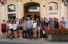 Vint-i-cinc joves d'arreu del món participen al Camp de Treball de la Riera de la Boella
