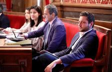 Esquerra va plantejar en la Junta de Portaveus ocupar els seients de Ciutadans al Saló de Plens.