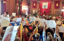 Imatge del ple a l'Ajuntament de Tarragona d'aquest divendres 21 de juliol.