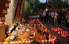 Imatge del memorial que va tenir lloc l'any passat, i que es repetirà avui a les cinc de la tarda.