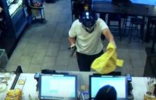 L'atracador portava una màscara del personatge Optimus
