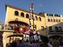 Llorenç del Penedès, escenari de la principal diada castellera del cap de setmana