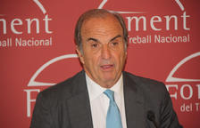 Imatge del president de Foment de Treball, Joaquim Gay de Montellà.