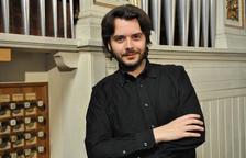 L'italià Christian Tarabbia, que tocarà al festival juntament amb Bartomeu Mut i Miguel Bernal.
