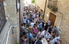 El éxito de ventas de la Festa de l'All de Belltall casi agota a la cosecha del 2017