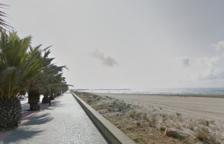 La playa de la Bota de Cubelles.