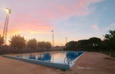 La piscina municipal de la Granada en una fotografia d'arxiu.
