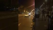 Un único Mosso abatió a tiros a cuatro de los cinco terroristas en Cambrils
