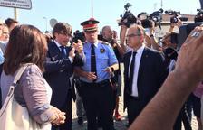 Puigdemont en Cambrils: «La mejor respuesta es la conquista de la normalidad»