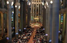 La misa a la Sagrada Familia.