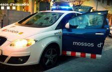 Imatge d'arxiu d'un cotxe patrulla dels Mossos d'Esquadra.