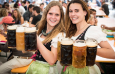 El Oktoberfest llega a Tarragona con cervezas y gastronomía de Alemania
