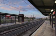 Imatge d'arxiu de l'estació del Vendrell.